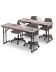 Folding Seminar Work Tables