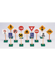 "7"" Block Play Traffic Sign"