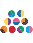 Rainbow Fraction Circles & Squares