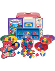 Three Bear Family Sort, Pattern, & Play Activity Set