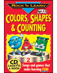 Rock 'N Learn Colors, Shapes & Counting
