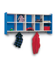 Kid's Height Wall Storage