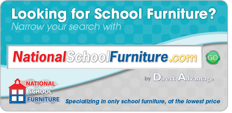 Looking for School Furniture? Narrow your search with Nationalschoolfurniture.com